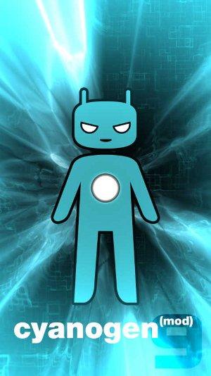 CyanogenMod bootscreen