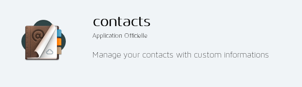 app contacts