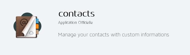 app contacts