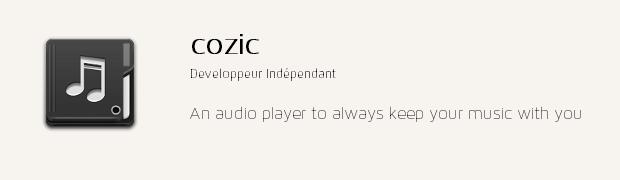 app cozic